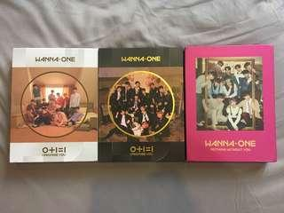 [CLEARANCE SALE] WANNA ONE ALBUMS