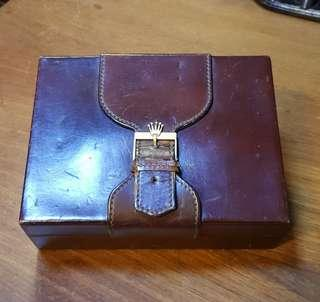 Old Leather Rolex Box*Items Sold Are Non-Returnable & Refundable🙂