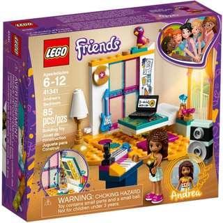 Lego Friends  41341  Andrea's Bedroom  / Lego Friends  41342     Emma's Deluxe Bedroom