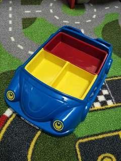 🚚 可愛車車造型餐盤 兒童餐盤