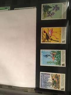 Singapore 1970 mint stamp Osaka expo set
