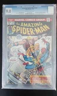 Amazing Spider-man #126 CGC 9.0 (1973 1st Series) 1ST Appearance of Harry Osborn as The Green Goblin!! Hard-To-Find & RARE Bronze Age Collectible! KEY ISSUE!!