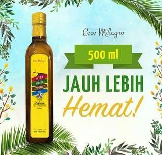 Coco Milagro minyak kelapa VCO 500ml