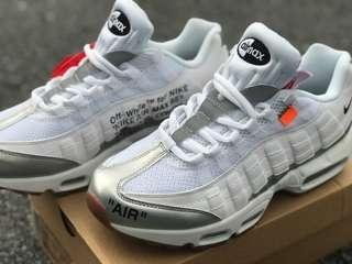 AIRMAX 95 OFF WHITE 40/6uk only 2 pair