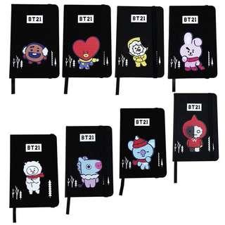 BTS BT21 Christmas Edition Diary Planner / Note Book