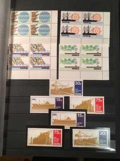Singapore um mints block of four