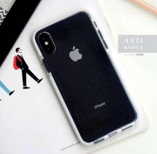 Anti Knock iPhone Case Putih
