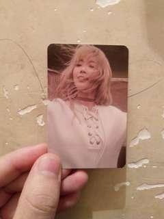 泰妍[I]專輯小卡