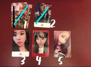 [Clearance] Twice Yes or Yes Official Photocard