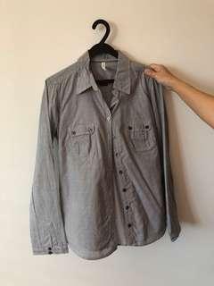 Marks n spencer stripe shirt
