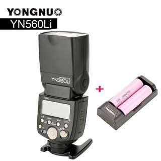 Yongnuo YN560Li Lithium Battery Speedlite