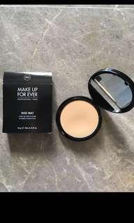 Make Up For Ever Duo Mat Powder Foundation in Shade 203