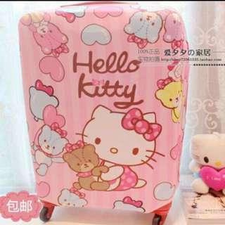 🚚 Hello kitty luggage Cover 24inch