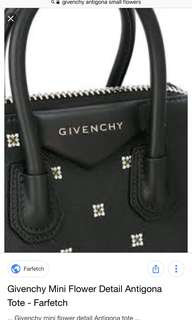 961a4f864e97 Givenchy flower Antigona tote