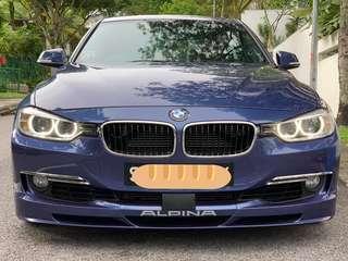 BMW Alpina B3 Biturbo blue 2013