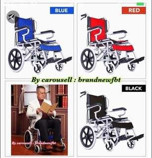 Wheelchair Wheelchairs Foldable HANDLE for easy storage n cars