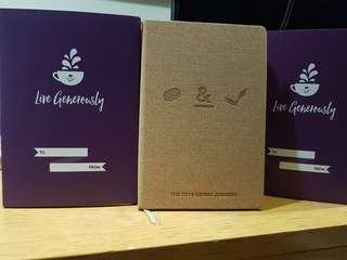 Sale !!!Coffee bean & tea leaf 2019 giving journal