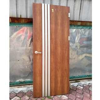 Pintu Kayu Door Panel L86 x H207 cm * M25 N3