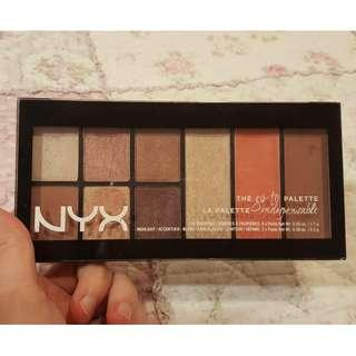 NYX PROFESSIONAL MAKEUP Go-To Palette: Indispensable [Used]