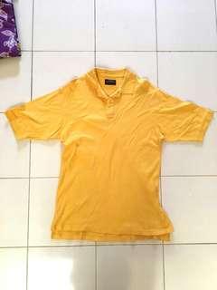 Baju pria kuning