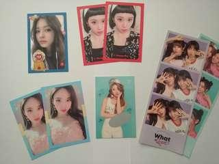 TWICE WHAT IS LOVE PHOTOCARDS