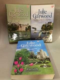 The Secret, Ransom dan Shadow Music by Julie Garwood (Novel Terjemahan) Highland Lairds Series Book 1-3 (50k dpt 3 buku)