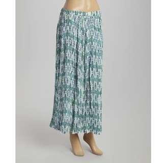 High Waisted - Tribal Maxi Skirt
