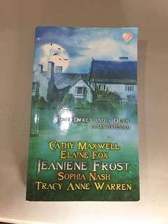 Four Dukes and A Devil by Jeaniene Frost, Cathy Maxwell, Elaine Fox, Sophia Nash & Tracy Anne Warren (Buku Novel terjemahan)