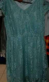 BNWT V neck lace dress