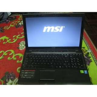 MSI CX61 2PF Secondhand Laptop With Good Condition