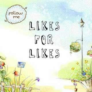 L4L LIKES FOR LIKES