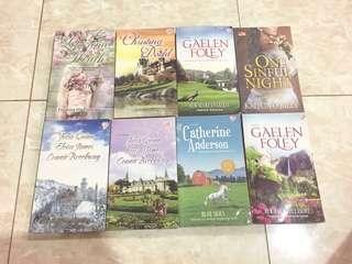 30k dapet 3 buku novel bebas pilih by Gaelen Foley, Lorraine Heath, Catherine Anderson, Julia Quinn, Eloisa James, Christina Dodd (Historical Romance)