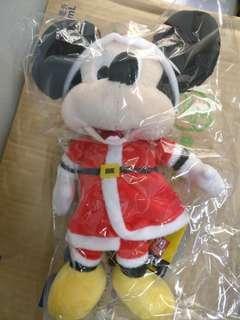 聖誕米奇 mickey毛公仔
