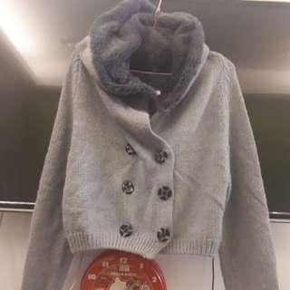 🚚 【新】秋冬連帽針織外套