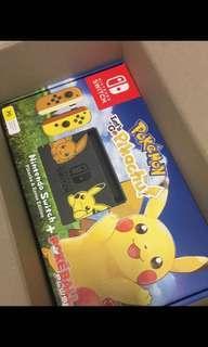 NEW Nintendo Switch Pokémon Edition with Pokeball Plus