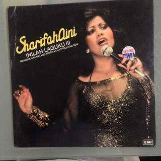 Lp Sharifah Aini (Inilah Laguku III) piring hitam