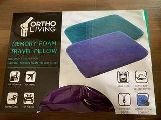 Memory Foam travel Pillow (Ortho Living)