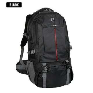 40L BIG STURDY TRAVEL BACKPACK with defect