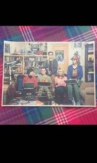 Sale 🌟 BN The Big Bang Theory Poster 42x30cm BBT