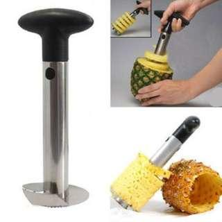 #MFEB20 Pineapple Corer Peeler Cutter Stainless Steel - Loose, Unboxed