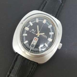 Pagol A1 Swiss Automatic Vintage Watch