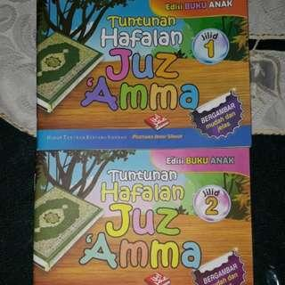 2 in 1 set - Tuntunan Hafalan Juz Amma 1 & 2
