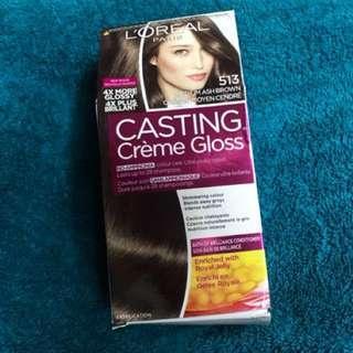 L'Oreal Paris Casting Creme Gloss Hair Color - Medium Ash Brown