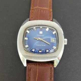 Tissot Seastar Seven Blue Dial Swiss Vintage Watch