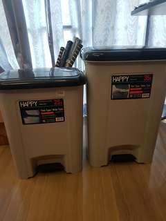 Pedal bins @ $15 ( 25l) & @$25 (35l)