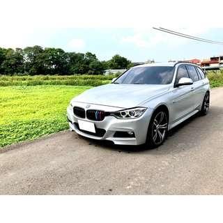 2013年BMW 318d F31 柴油旅行式 視覺系 車況綿綿 老闆用車
