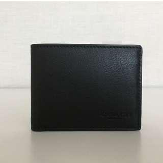 COACH 75016 SLIM BILLFOLD ID WALLET IN SPORT CALF LEATHER