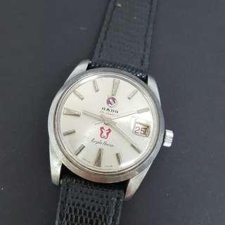 Vintage Rado Purple Horse Winding Watch