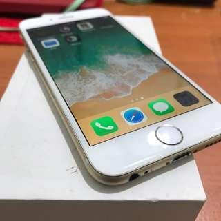iPhone 6 64gb gold ex inter singapore Bisa Tt
