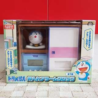 Doraemon Desk Clock UFO Catcher Prize from Japan